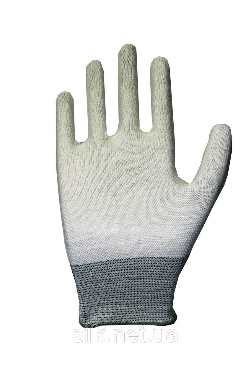 Трикотажні рукавиці з ПВХ Silk 136101