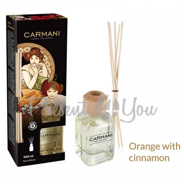 Аромадиффузор А. Муха «Запах-апельсин-корицa» Carmani