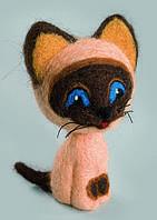 """Набор для валяния игрушек Чарівна Мить В-141 """"Добрый котик"""", Код товара: 32288"""