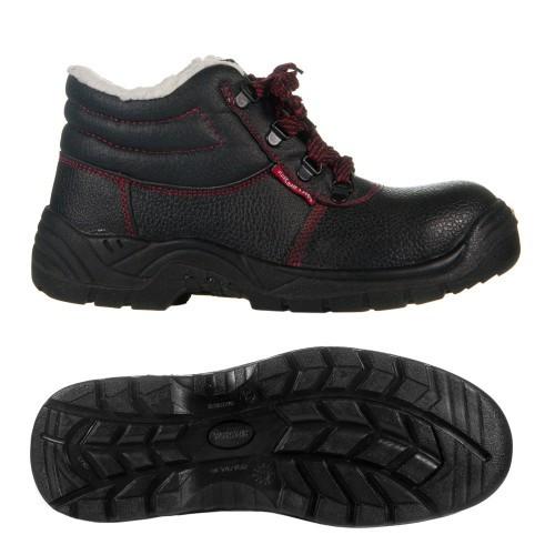 Ботинки рабочие утепленные BTPuOC SB, ботинки с металлическим подноском