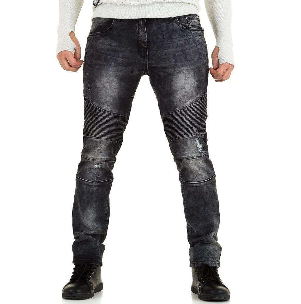 Байкерские мужские джинсы Tfboys Jeans (Европа), Серый
