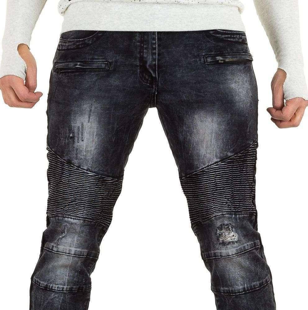 Джинсы мужские байкерские Tfboys Jeans (Европа), Серый