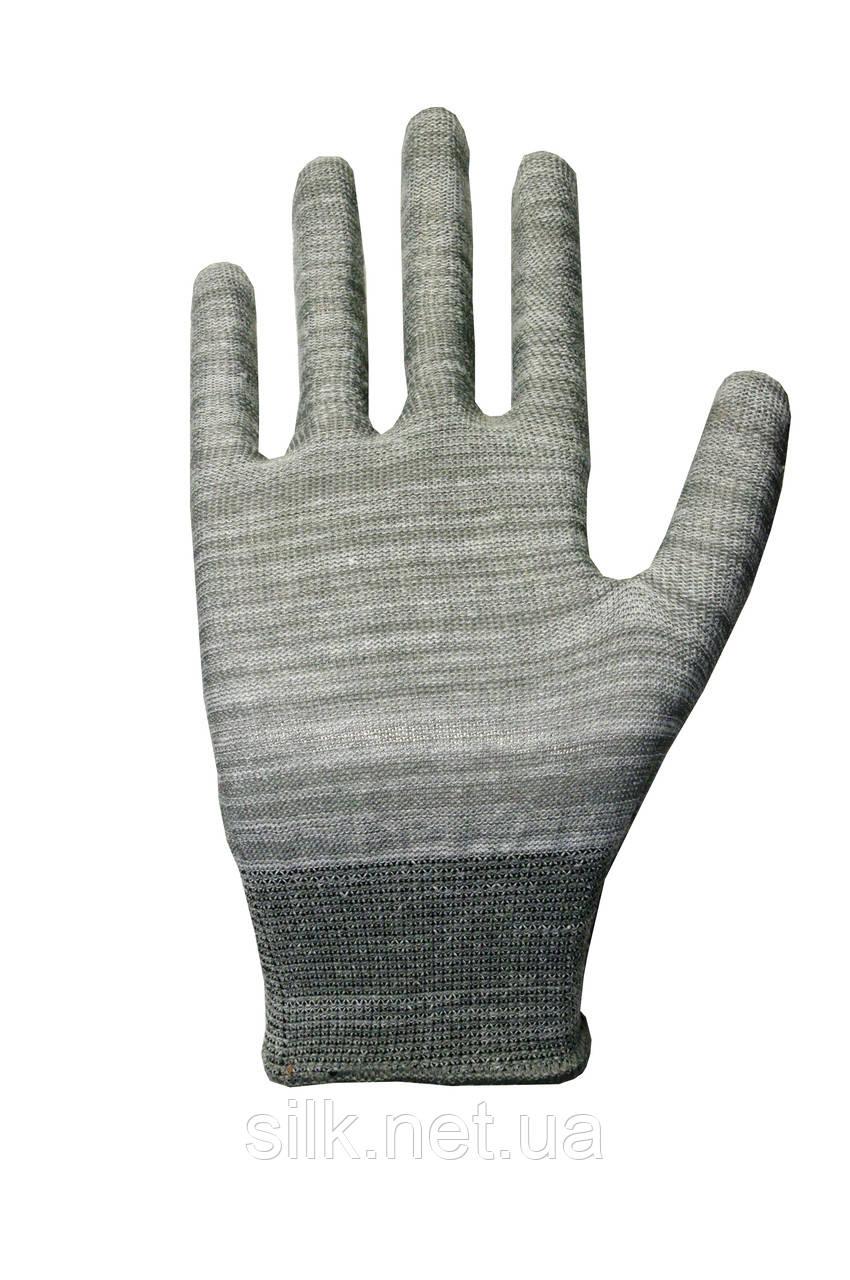 Трикотажні рукавиці без ПВХ Silk 136102