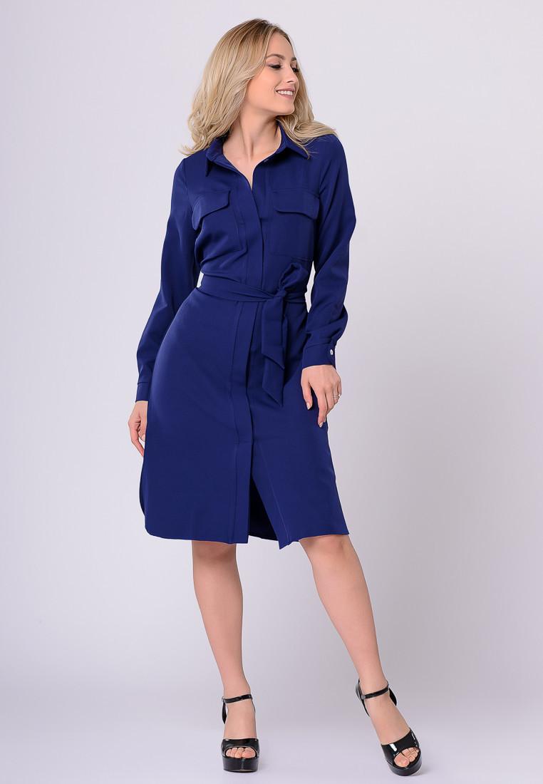 Платье LiLove 372 44 синий