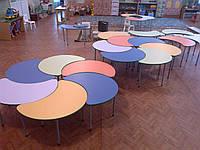 Стіл ігровий дитячий фігурний (кольори на вибір)