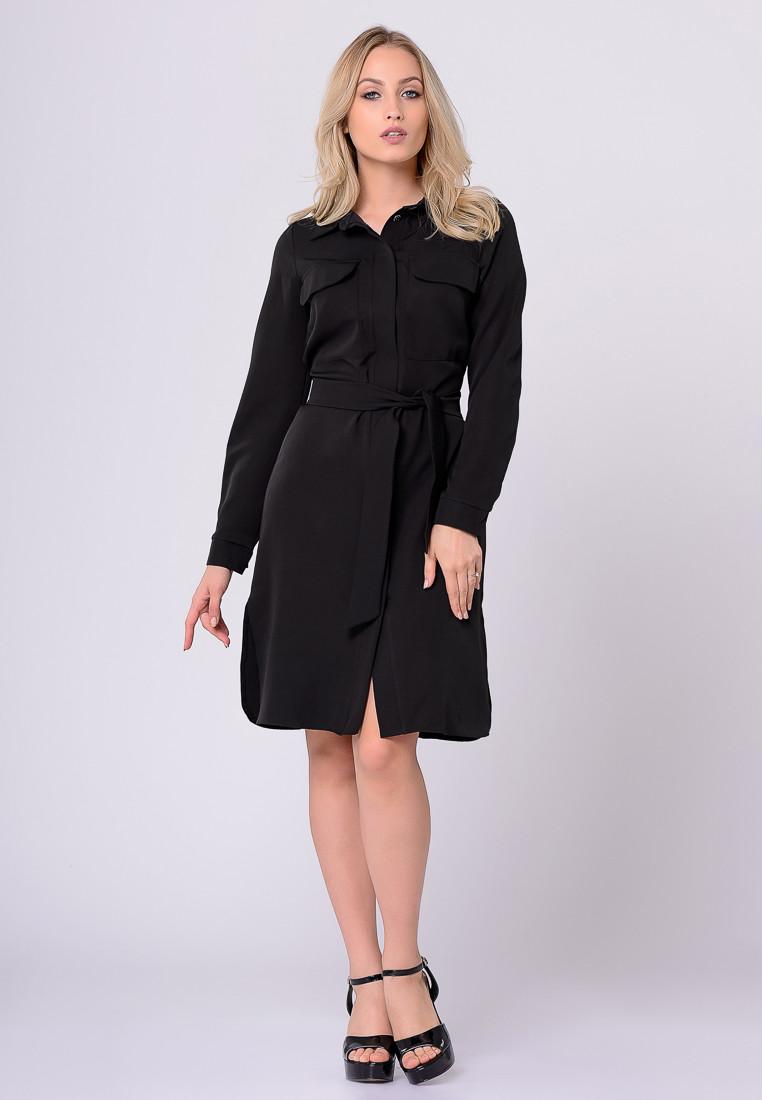 Платье LiLove 372-1 42 черный