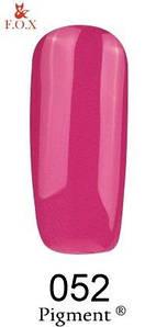 Гель-лак F.O.X. 6 мл Pigment 205 розовый с фиолетовым оттенком, эмаль