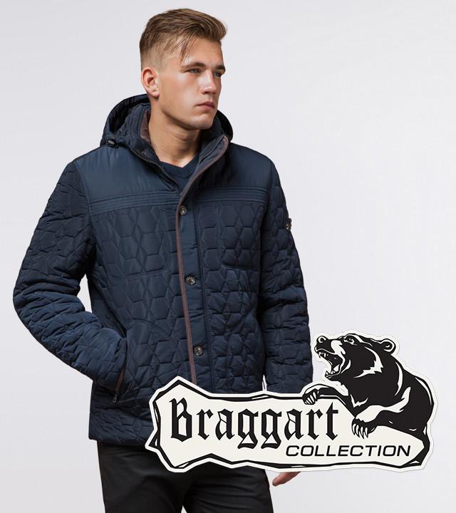 Braggart Dress Code 3570   Зимняя куртка св.синий-коричневый