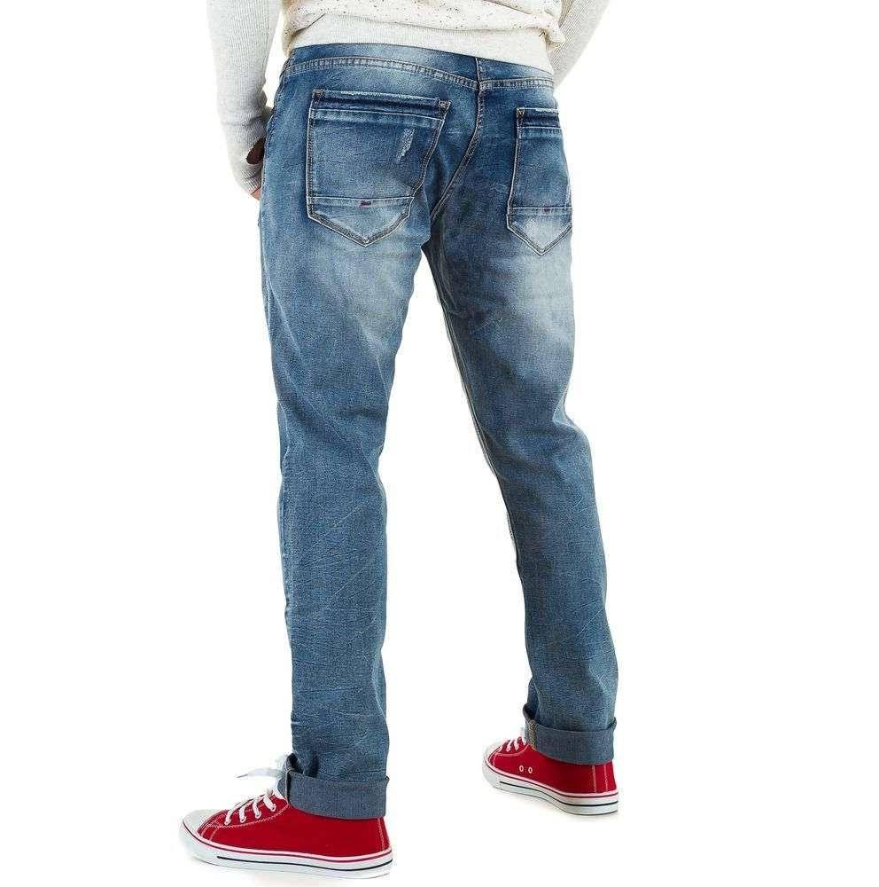 Классические джинсы мужские Black Ace (Европа), Синий