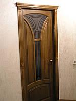 """Двери межкомнатные из натурального дерева, под заказ в Виннице. Модель """"ЛОТОС"""""""