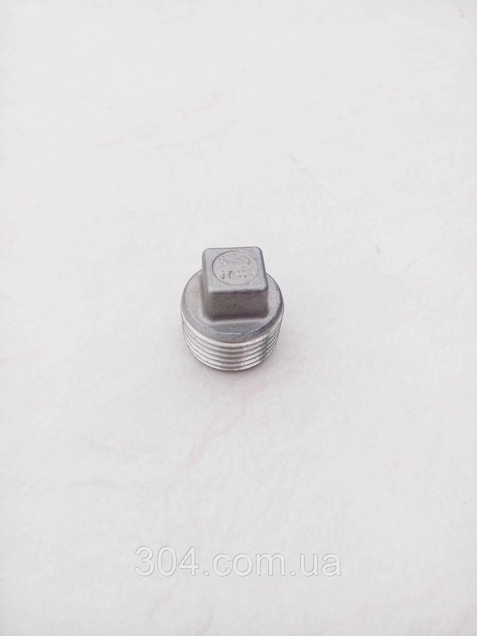 Заглушка нержавеющая Ду 32(1 1/4 дюйма), AISI 304