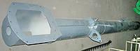 Кожух выгрузного шнека Дон-1500Б РСМ-10.01.55.020Б