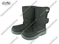 Мужские сапоги (Код: Гофра G-120 черный ), фото 1