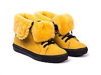 Ботинки Etor 4690-7165-709 36 желтые, фото 1