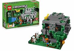 "Конструктор ""Lepin"" ""MINECRAFT"", ""Храм в джунглях"", 504 деталей.Развивающий конструктор для детей  Майнкрафт."