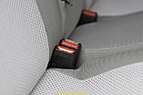 Чехлы салона Nissan Micra (K12) с 2003-10 г(цельная), /Серый, фото 6