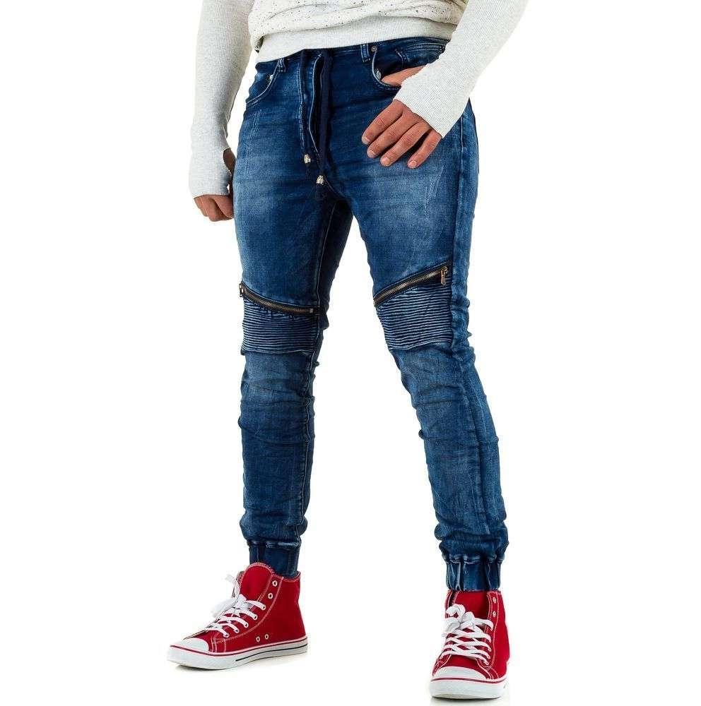 Джинсы мужские Justing Jeans (Европа), Синий