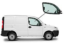 Боковое стекло Fiat Doblo 2000-2010 переднее опускное правое