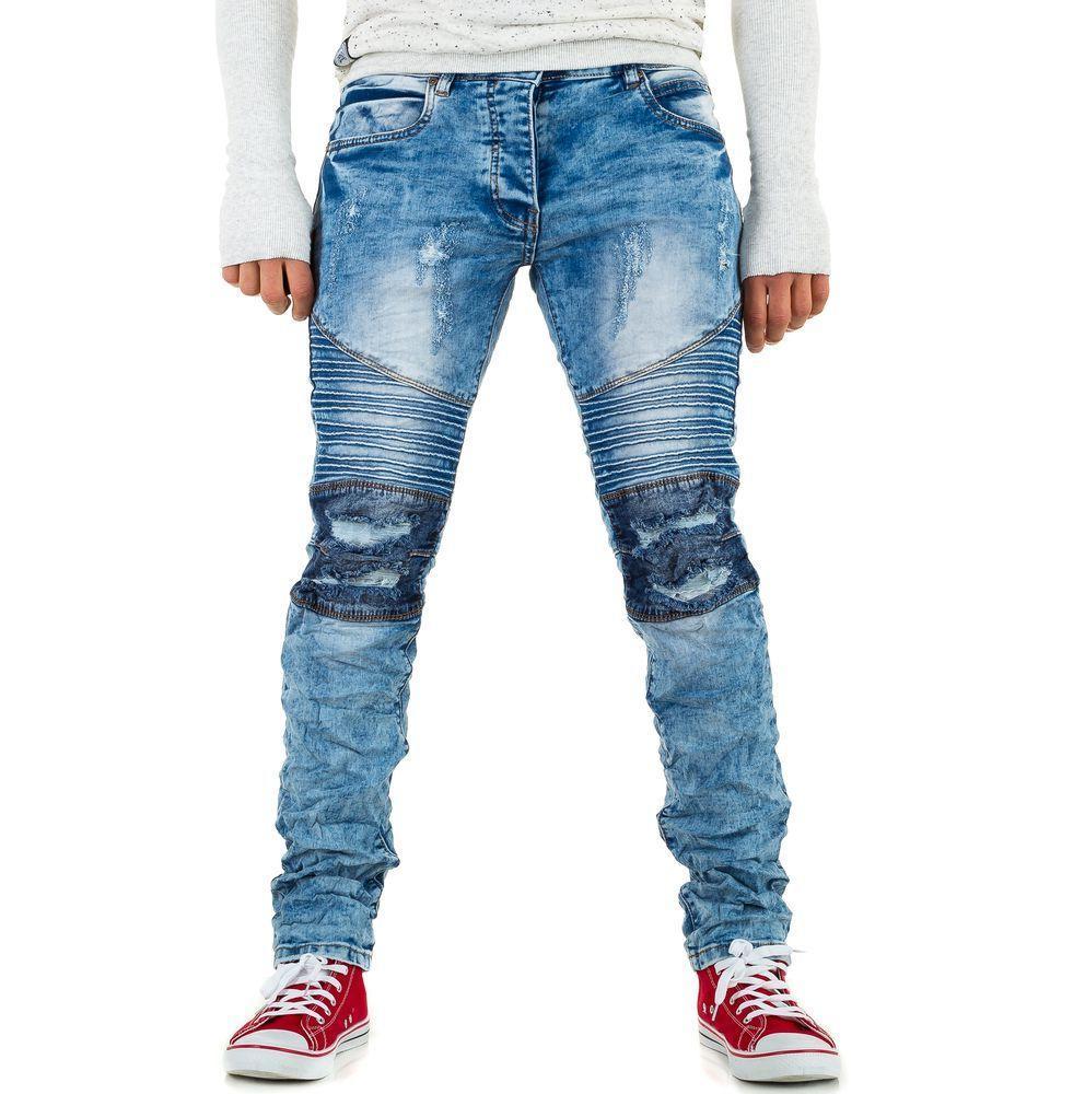 Джинсы мужские Justing Jeans (Европа), Голубой