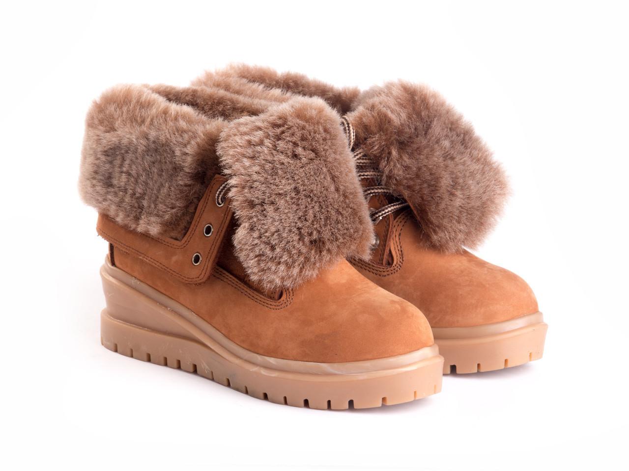 Ботинки Etor 3775-205-742 37 рыжие