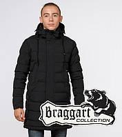 Подросток 13-17 лет |  Зимняя куртка Braggart Teenager 25160 черная