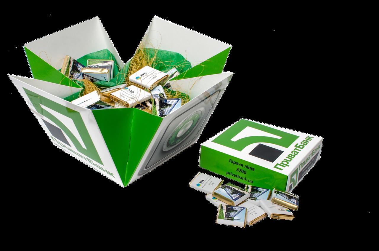 Шоколадный набор с лого ''Легенда 40'' Корпоративные подарки, Подарки с логотипом, Сувенир с лого