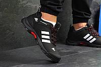 Кроссовки мужские Adidas Climaproof  осенние теплые удобные спортивные (черные), ТОП-реплика, фото 1