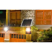 Светодиодный led прожектор 30W на солнечной батарее с пультом, фото 2