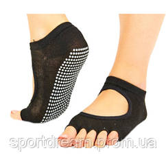 Носки для йоги и танцев без пальцев FL-6872
