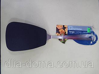 Тефлон лопатка с метал ручкой 36 см /14729