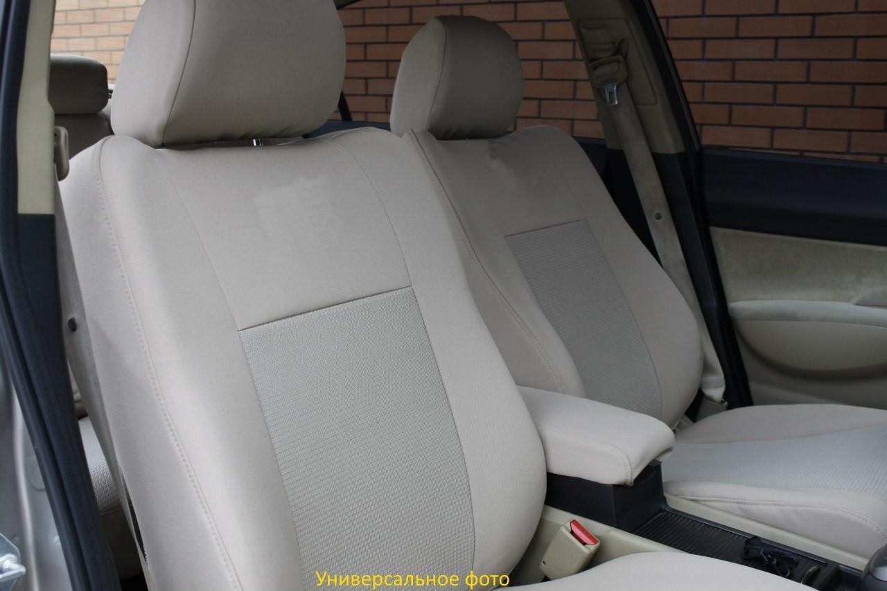 Чехлы салона Chevrolet Aveo Sedan с (T250) с 2006–11 г, /Беж