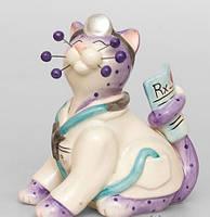 """Фарфоровая фигурка кота """"Доктор Мур"""" Pavone CMS - 31/36"""