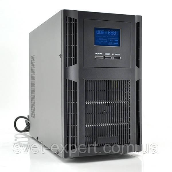ИБП с правильной синусоидой PT-1KS-LCD, 1000VA (800Вт), 24В, Встроенная батарея 12V 7,5 Ah х 2 шт