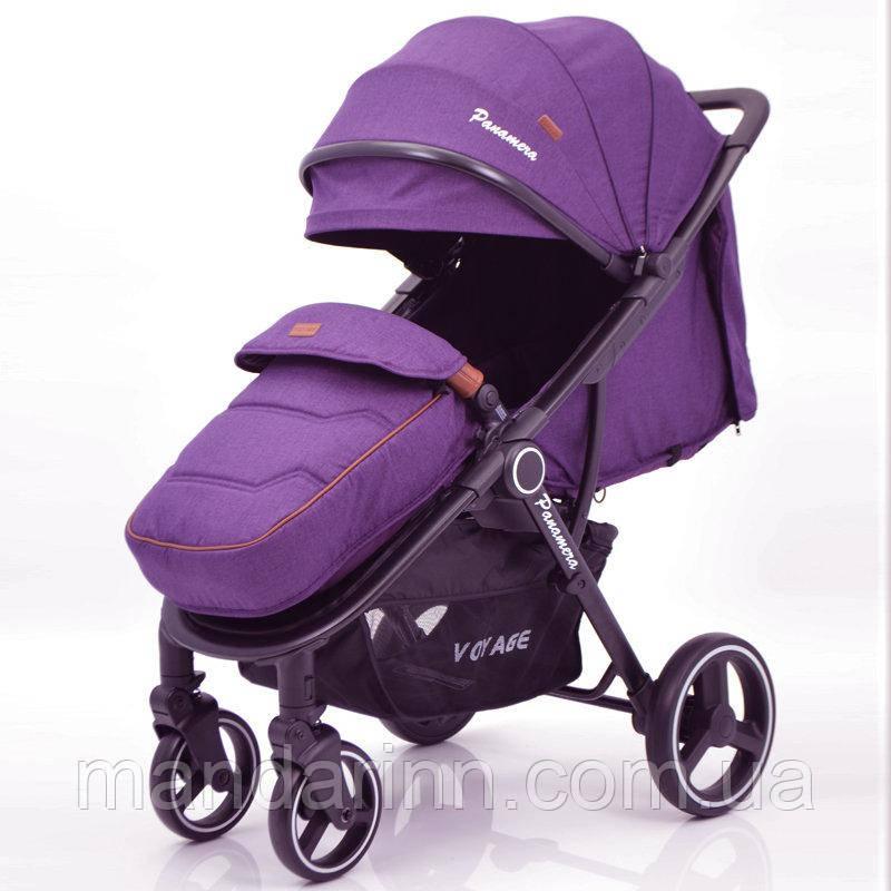 """Детская коляска """"PANAMERA"""" C689 Purple Фиолетовая"""