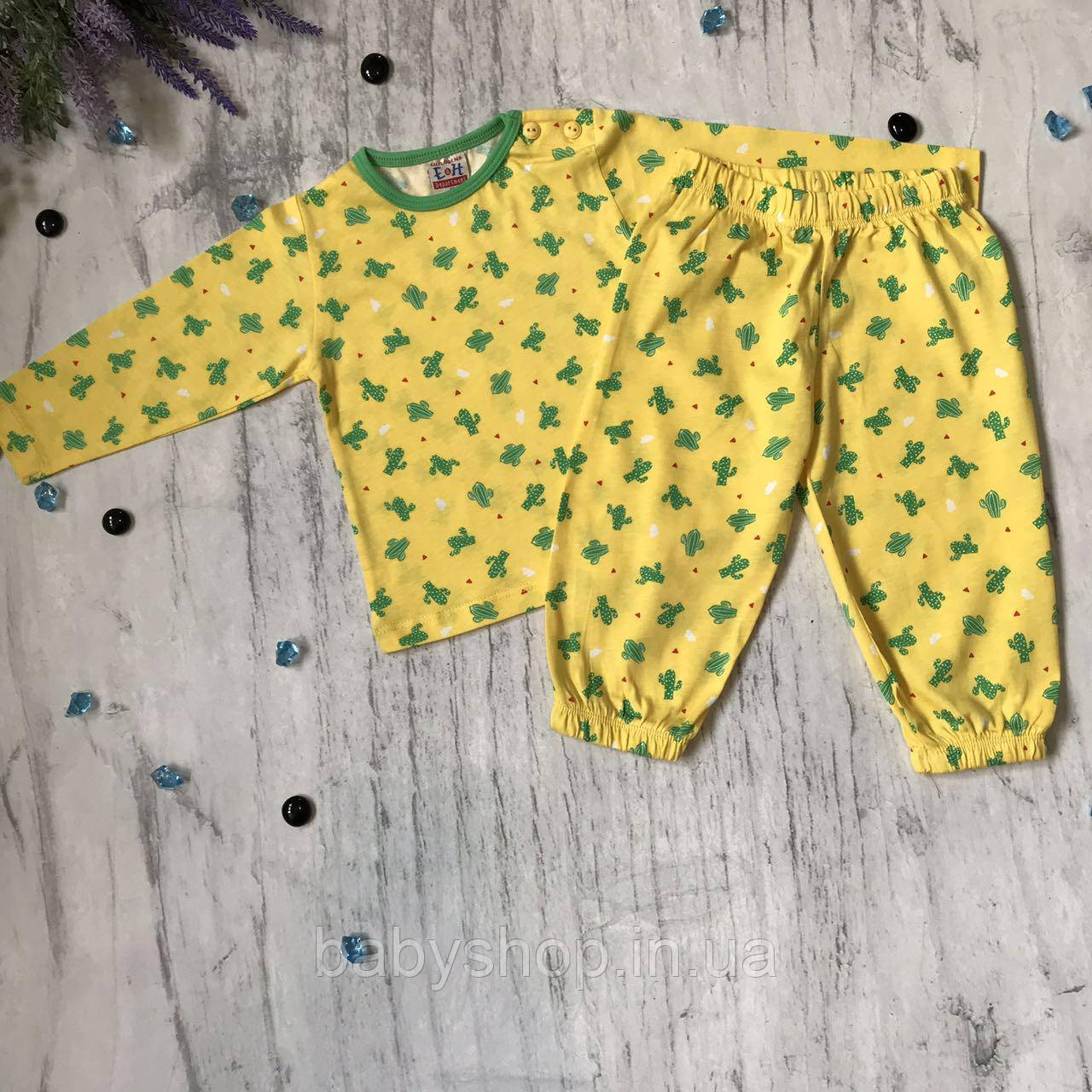 Детская пижама на мальчика и девочку Breeze 1/1ф. Размер 80 см, 86 см, 98 см