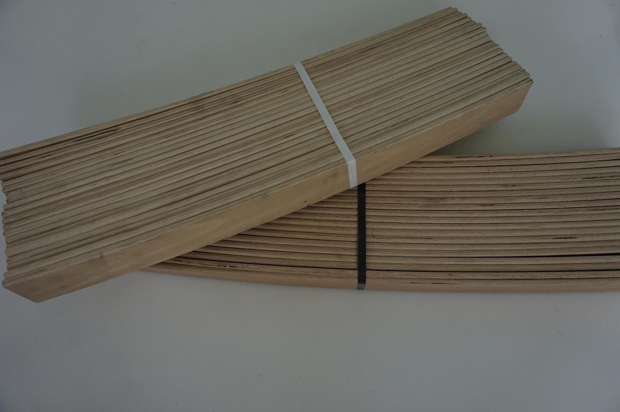 Ламели (латы) из бука 900