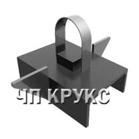 Опори нерухомі хомутові трубопроводів Дн 32 — 219 мм МС-659.00.00 СБ