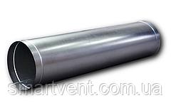 Воздуховод прямошовный Ø125 оц.0,5 мм