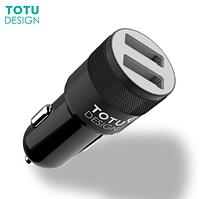 Автомобильное зарядное устройство на 2 USB порта для Телефона,смартфона,планшета TOTU 5V/2.4А