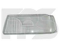 Стекло фары для Audi 80 86-94 правое, H1+H1 (фара с линзой) (HELLA)