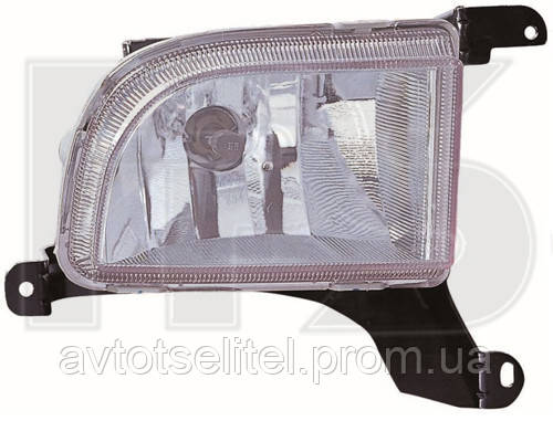 Противотуманная фара для Chevrolet Lacetti 03- левая (Depo)