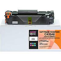 Картридж тонерный NewTone для HP LJ P1005/P1006, Canon 712 аналог CB435A Black (C435AE)
