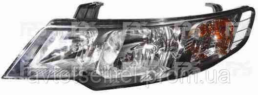 Фара передняя для Kia Cerato 09- правая (DEPO) механическая/под электрокорректор