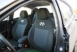 Чехлы салона Volkswagen T5 (1+2/1+2/3) Caravelle 9 мест c 2003 г, /Черный, фото 5