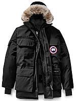 Мужская парка Canada Goose Expedition Parka зимняя куртка пуховик Канада Гус черная размер L