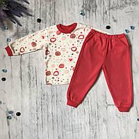 Пижама детская Babyjoy на девочку 2/6. Размеры  80 см, фото 1