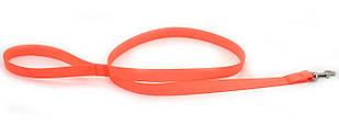 Поводок для собак биотановый оранжевый 1024