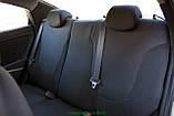 Чехлы салона Skoda Fabia (6Y) Sedan (раздельная) с 2001-07 г, /Черный, фото 4