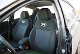 Чехлы салона Skoda Fabia (6Y) Sedan (раздельная) с 2001-07 г, /Черный, фото 5