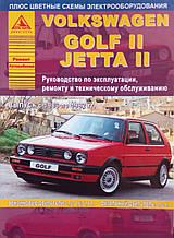 VOLKSWAGEN GOLF II / JETTA II Модели 1983-1992 гг. Руководство по ремонту и эксплуатации